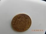 Франция 20 франков 1868 г photo 5