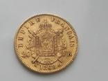 Франция 20 франков 1868 г photo 7