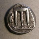 Серебряный статер. Бруттий, Кротон, 480-430 годы до Р.Х.