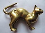 Кот латунь 490 грамм