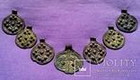 Комплекс КР (монетовидные привески и лунница) photo 1