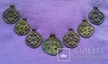 Комплекс КР (монетовидные привески и лунница) photo 4