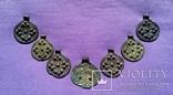 Комплекс КР (монетовидные привески и лунница) photo 5