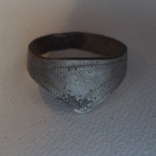 Кольцо лучника с орнаментом(серебро) photo 1