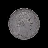 2 Талера 1851 Фридрих Август, Саксония photo 2