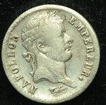 Франция 1/2 франка 1812 серебро