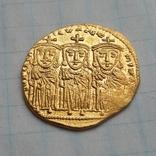Константин VI и Ирина, Византия 790-792 г.г. Реверс Лев III, Константин V и Лев IV photo 2
