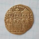 Константин VI и Ирина, Византия 790-792 г.г. Реверс Лев III, Константин V и Лев IV photo 4