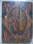Неопалимая Купина. Большая церковная икона, фото №2
