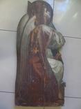 Арх. Гавриил в молитве. Большая церковная икона, фото №2
