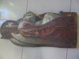 Арх. Гавриил в молитве. Большая церковная икона, фото №3
