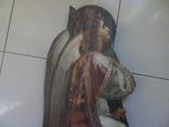 Арх. Гавриил в молитве. Большая церковная икона, фото №4