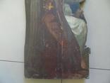 Арх. Гавриил в молитве. Большая церковная икона, фото №5