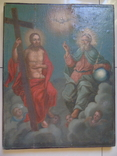 Троица. Большая церковная икона, фото №2