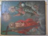 Троица. Большая церковная икона, фото №3