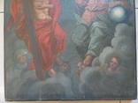 Троица. Большая церковная икона, фото №5