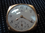 Часы омега швейцария 1920 года золото 56 пр.