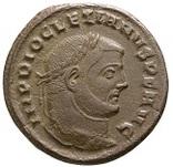 Великий фоліс (9,42 гр.) Діоклетіана (284-305 рр.)