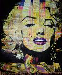Merilyn Monroe inside of Los Angeles city