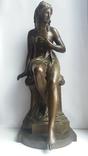 Бронзовая статуэтка братьев Сюсс,Франция 19-20ст.