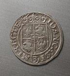 Коронный полторак Яна Казимира 1654 года, мондвор Познань photo 2