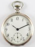 Карманные часы Cortebert CAL.477. Серебро 800.