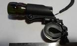 Велосипедный трёх режимный фонарь ZUMM + универсальное крепление на руль модель 602.