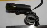 Велосипедный трёх режимный фонарь ZUMM + универсальное крепление на руль модель 602. photo 7