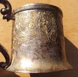 Подстаканник серебро 84, Харбин, вес 161 гр. photo 7