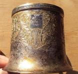 Подстаканник серебро 84, Харбин, вес 161 гр. photo 8