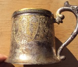 Подстаканник серебро 84, Харбин, вес 161 гр. photo 9