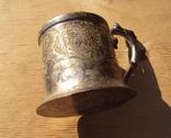 Подстаканник серебро 84, Харбин, вес 161 гр. photo 11
