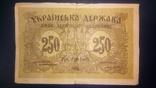 250 карбованців УНР 1918 серія АА