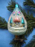 Елочная игрушка сказочный замок,остров буян