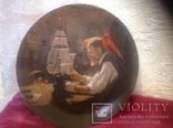 Коллекционная фарфоровая  тарелочка 9, фото №2