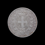 5 Лир 1873 Витторио Эмануил ІІІ, Италия