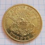 20 Долларов 1875 г. США photo 1