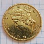 20 Долларов 1875 г. США photo 7