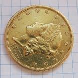 20 Долларов 1875 г. США photo 8