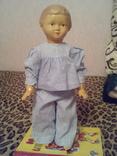 Старая кукла, целлулоид, клеймо.