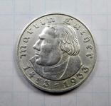 2 марки Лютер 1933 А