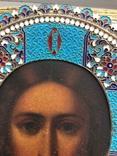 Большой Спаситель 84 ,в эмали и золоте photo 4