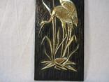 Картина Цапли пластмасса 26х9,5 см, фото №4