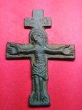 Хрест-вставка, Розп'яття Христове IC XI, XIII-поч.XIV ст. photo 4