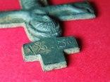 Хрест-вставка, Розп'яття Христове IC XI, XIII-поч.XIV ст. photo 11