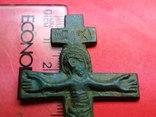 Хрест-вставка, Розп'яття Христове IC XI, XIII-поч.XIV ст. photo 12