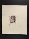 Графіка, ''Жінка''. 23х20.2 photo 2