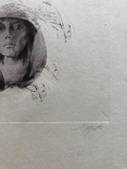 Графіка, ''Жінка''. 23х20.2 photo 5