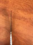 Биметалический нож КР ( серебряная рукоять) photo 8