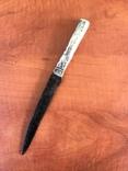 Биметалический нож КР ( серебряная рукоять) photo 1